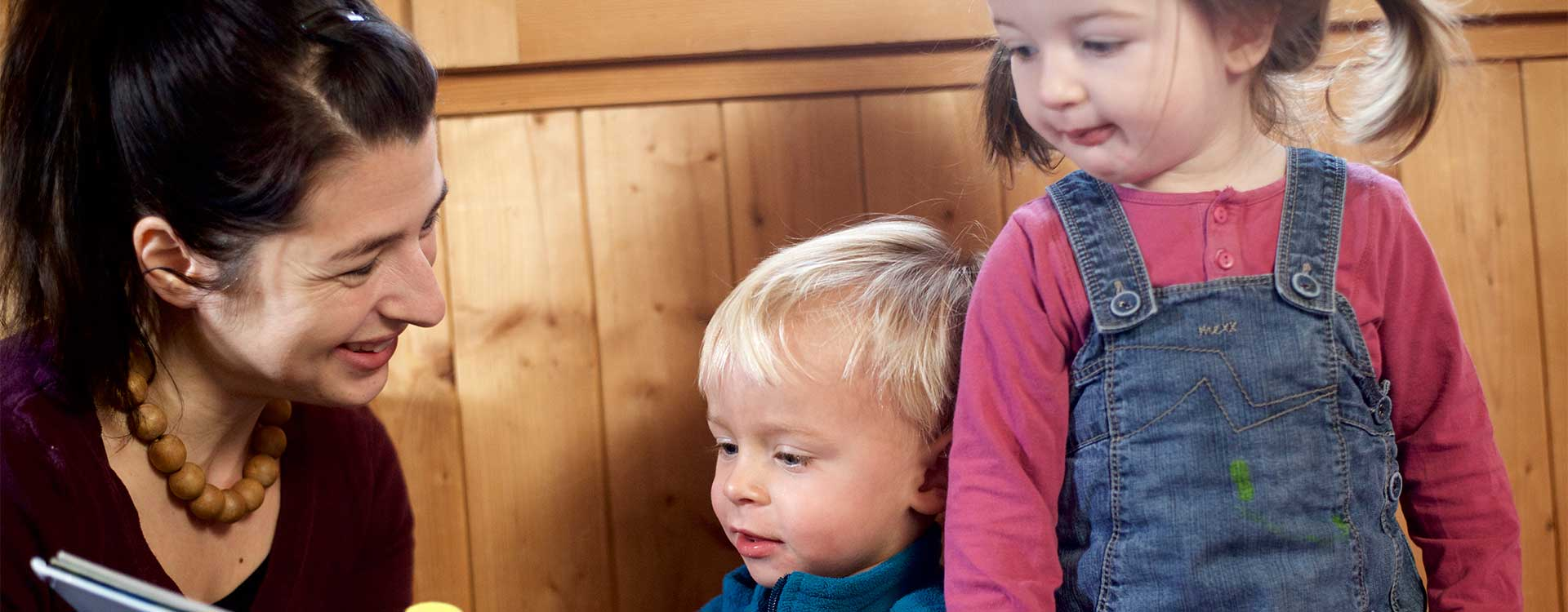 Kinderhotels mit Kinderbetreuung in Laax.